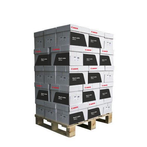 Kopieerpapier Canon Black Label Office A4 80 grams wit NEN2728 pallet à 200 pak 1